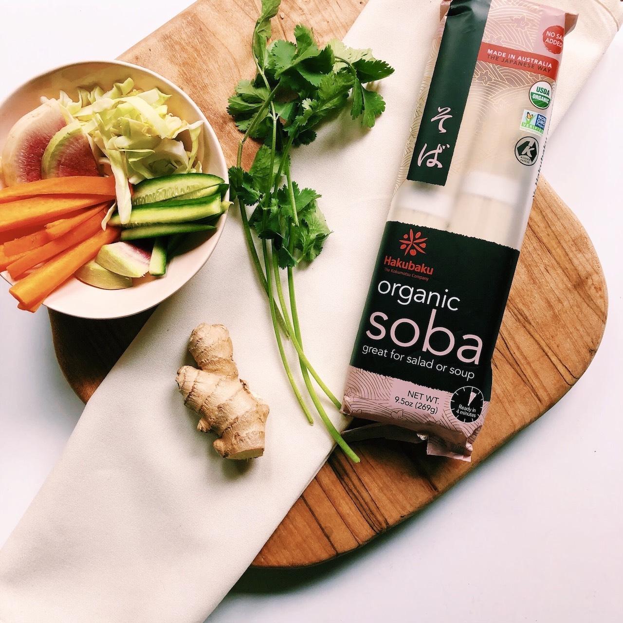 Chilled Summer Soba Salad