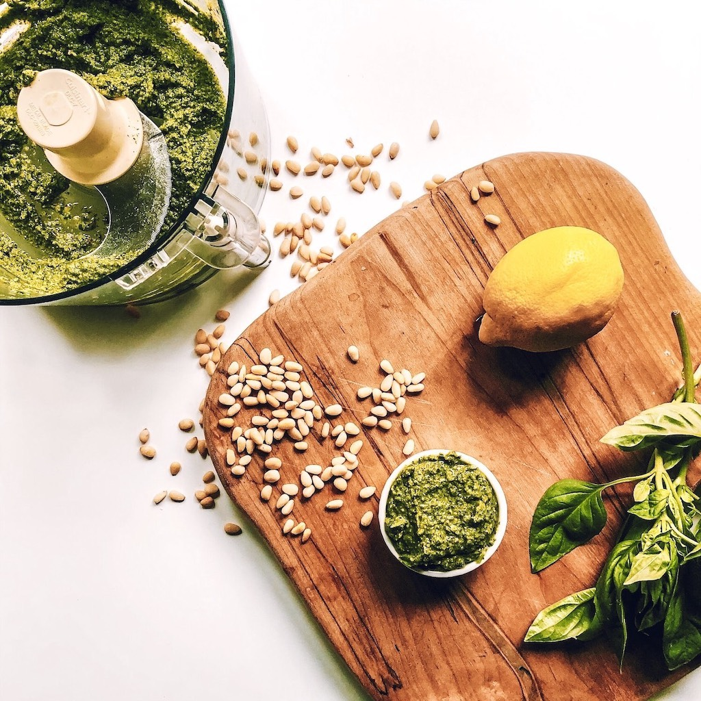 Low Fodmap Vegan Pesto /> <br /> <br /> <p style=